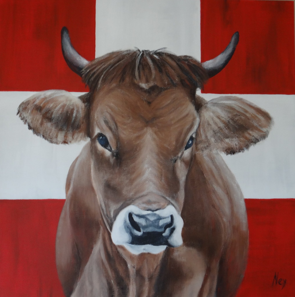 Swiss Beauty 80x80cm (sold)