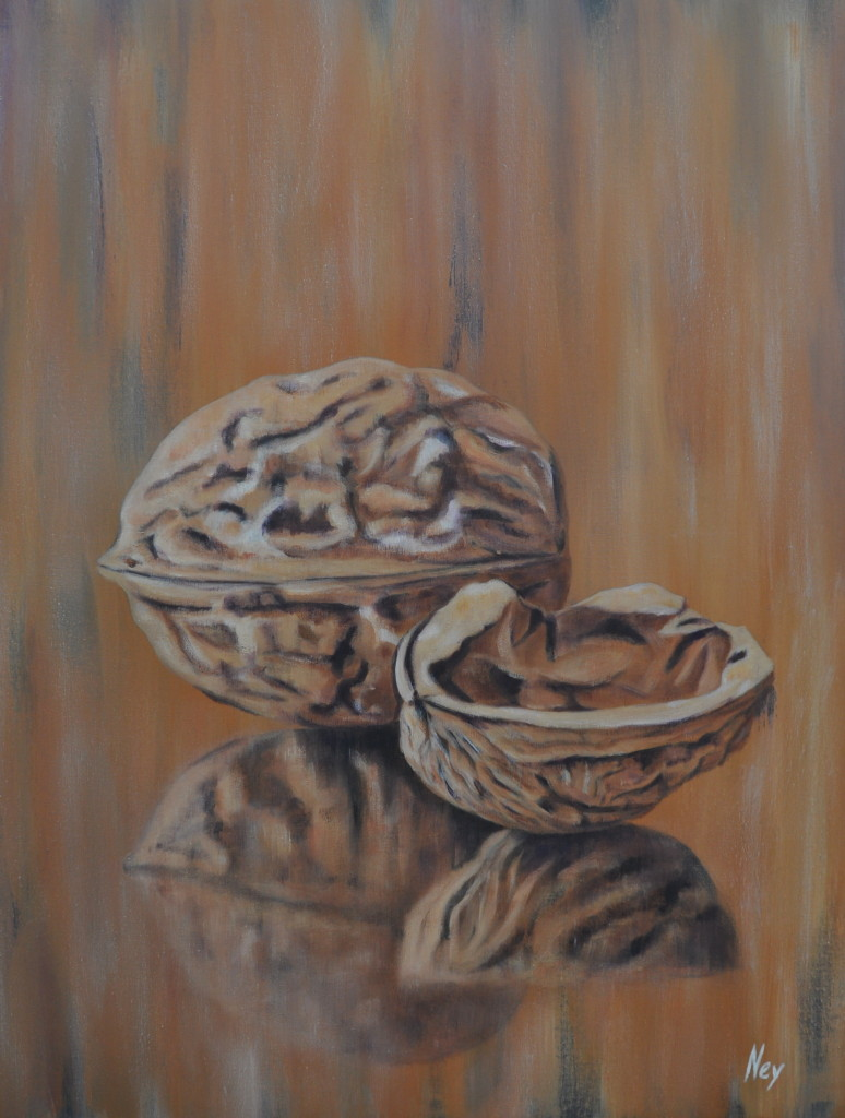 Wrinkles give them character 80x100cm