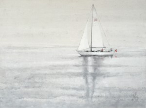 Smoke on the Water 80 x 60 cm