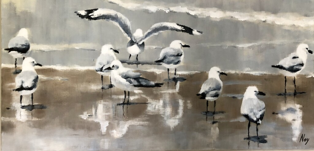 Spread your wings, 50 x 100 cm, CHF 1500,  €1400